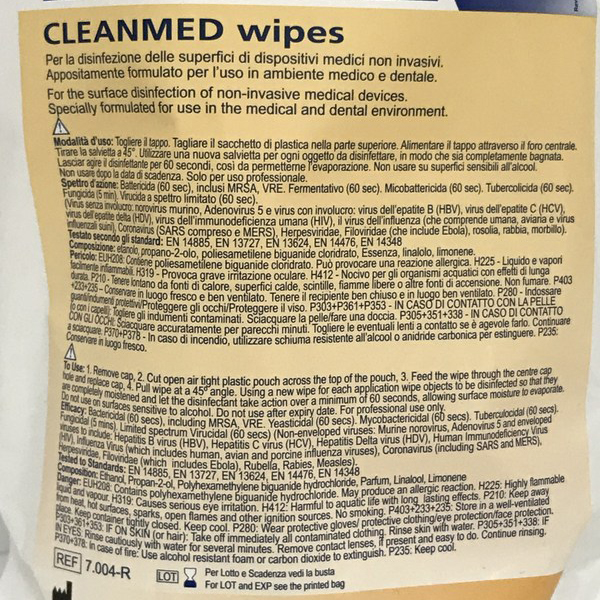 Instructiuni servetele dezinfectante