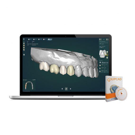 Up3D UPCAD software laborator tehnica dentara si centre de prelucrare digitala