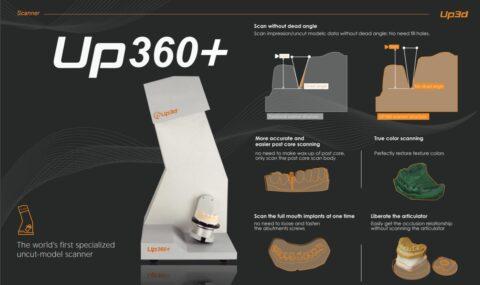 Scanner Up3D UP360+